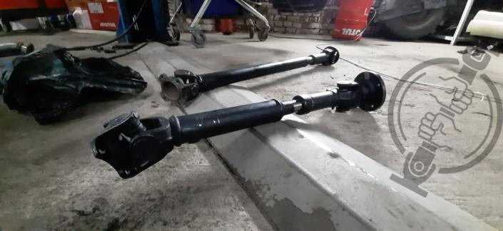Изготовление кардана на УАЗ из кардана Nissan Patrol