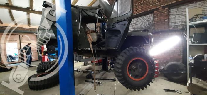 Монтаж кардана от Nissan Patrol на УАЗ