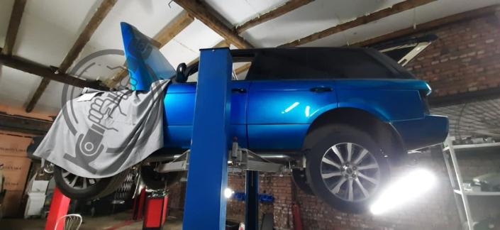 Ремонт кардана Range Rover VOGUE