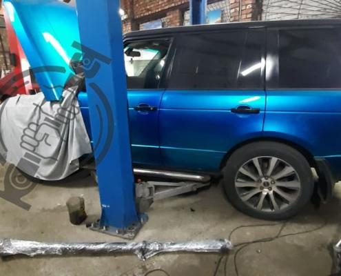 Ремонт кардана Range Rover